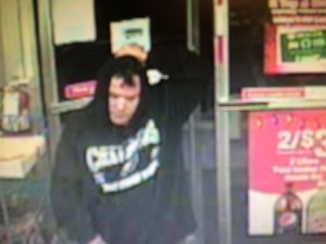 Turkey Hill Robbery Suspect